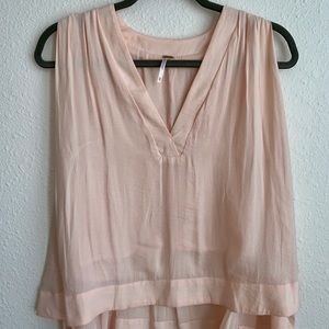 Free People pink stop size XS